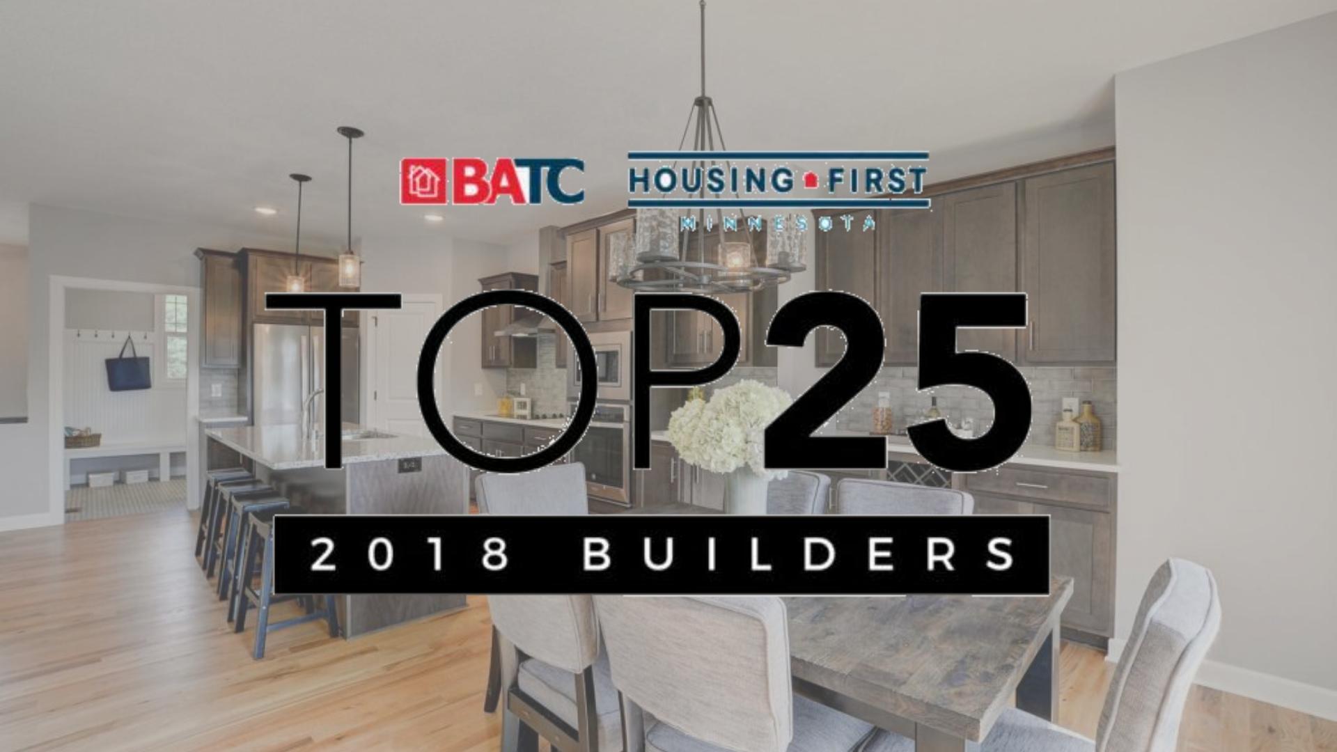 Top 25 Builders 2018