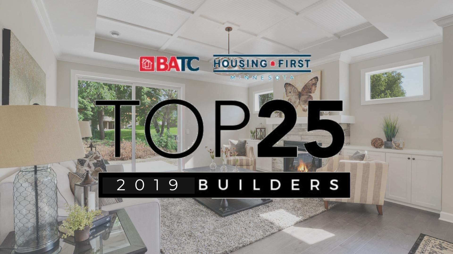 2019 Top 25 Builders